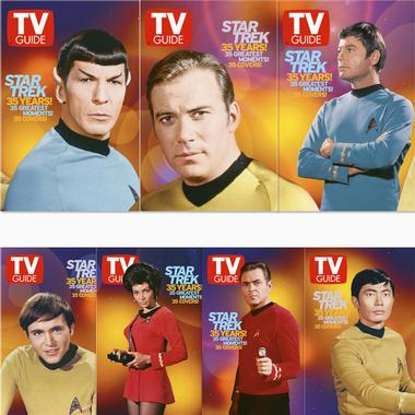 TV Guide 35th Anniversary covers - ST:TOS