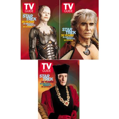 TV Guide 35th Anniversary covers: Villians